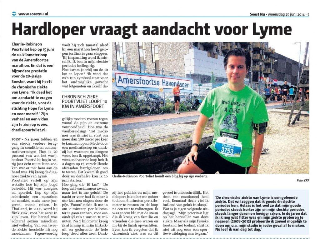 Interview voor de Soest Nu