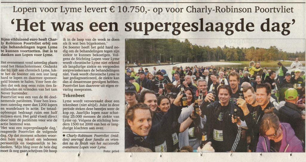 Artikel Soester Courant 13 April