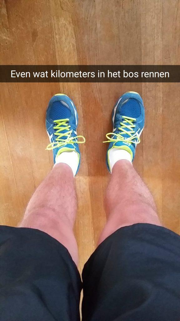 Klaar om te rennen