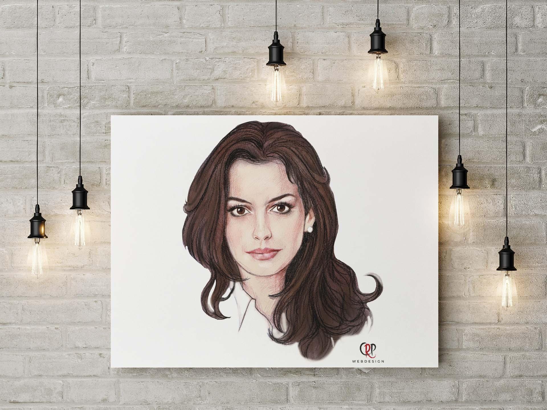 Portret Anne Hathaway