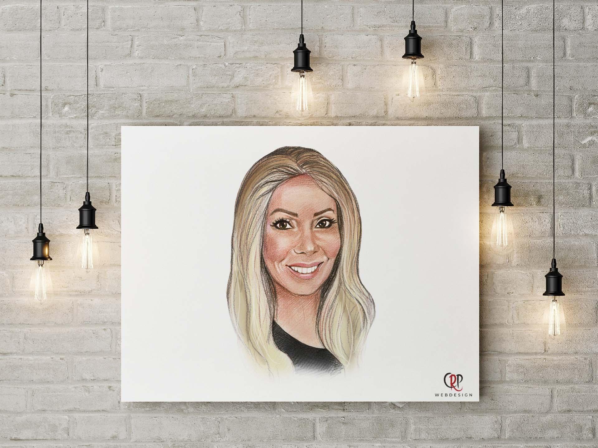 Preview Portrettekening Bianca Voom Voom