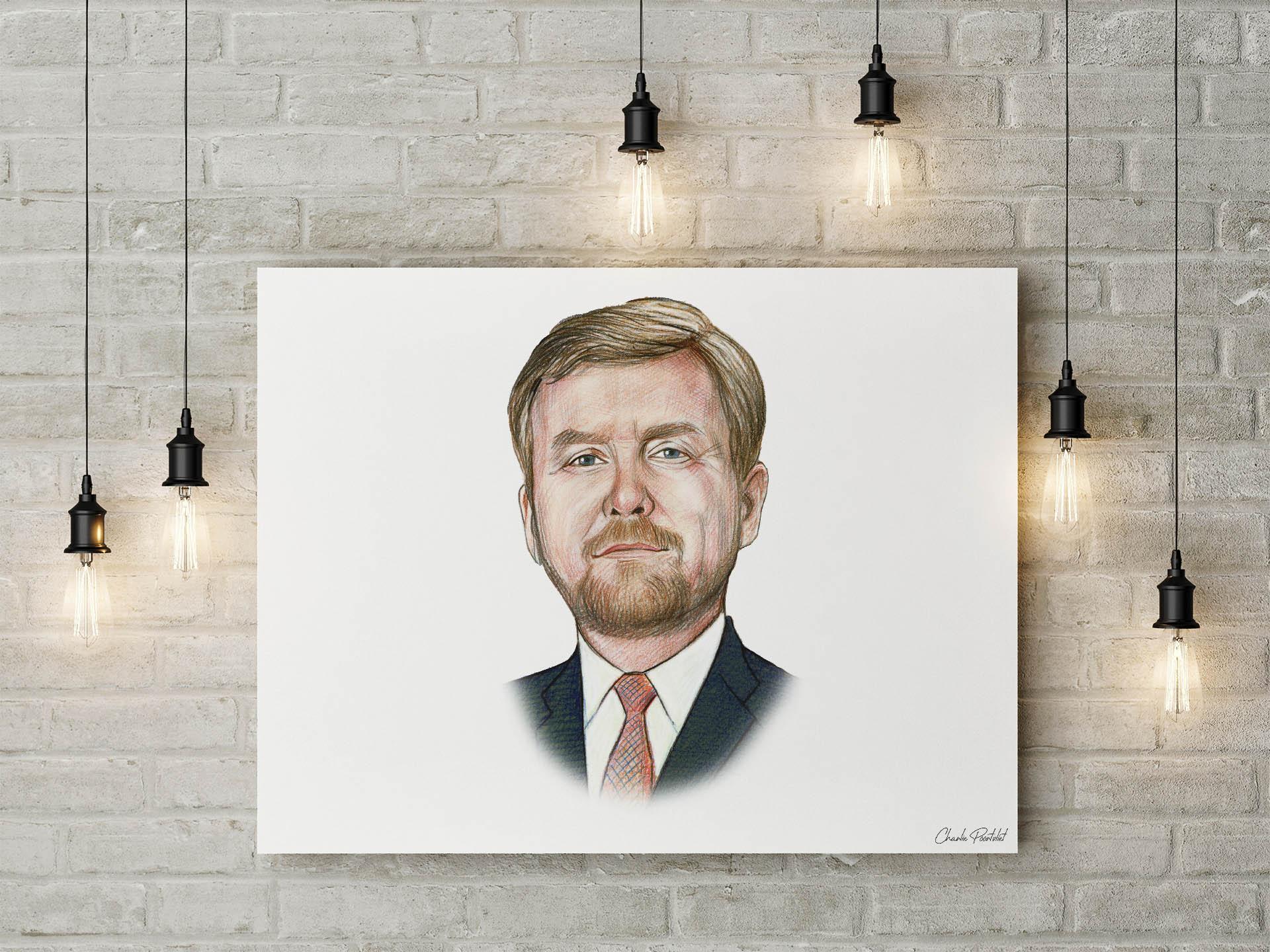 Portret Koning Willem-Alexander Preview