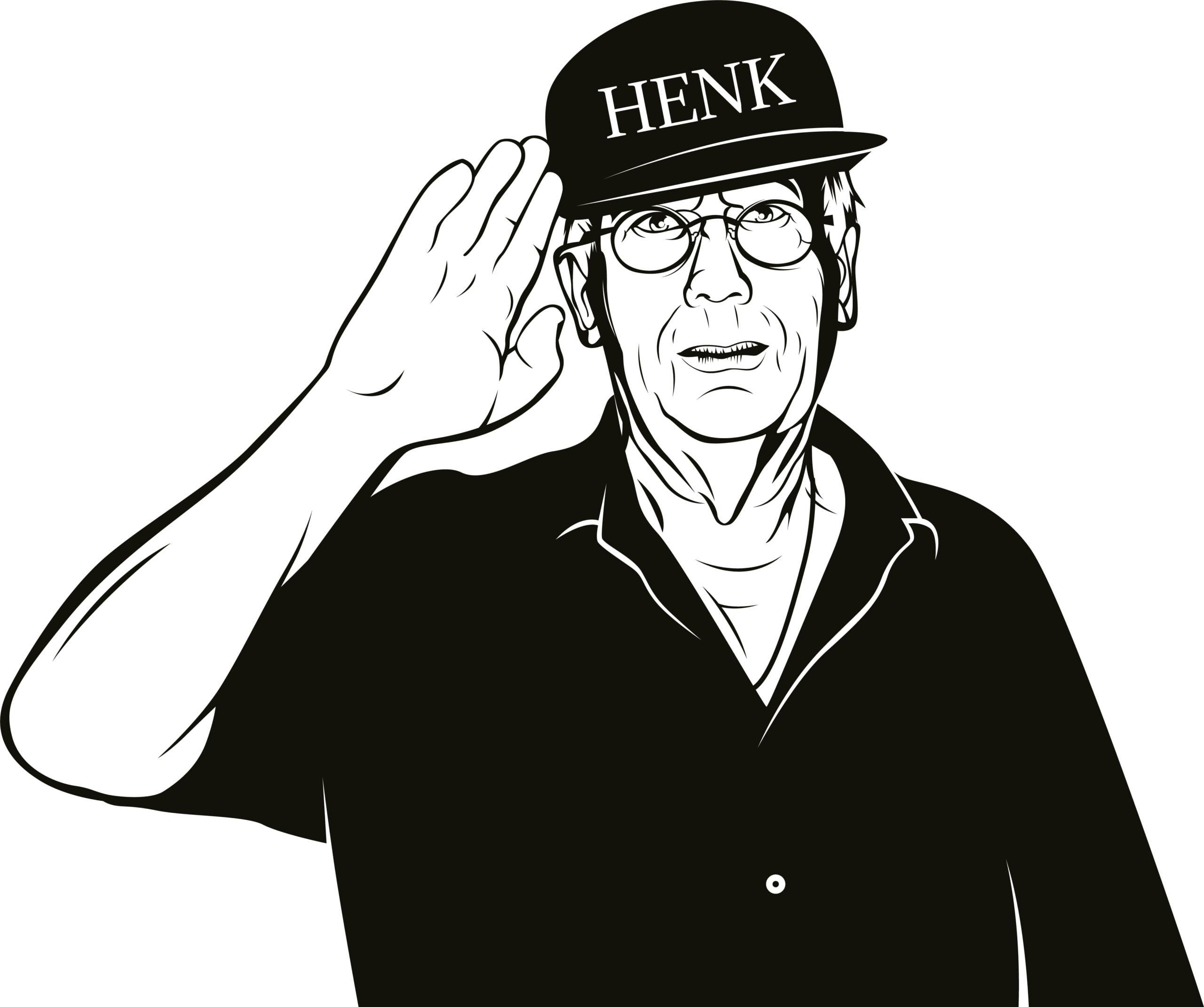 Silhouette Opa Henk