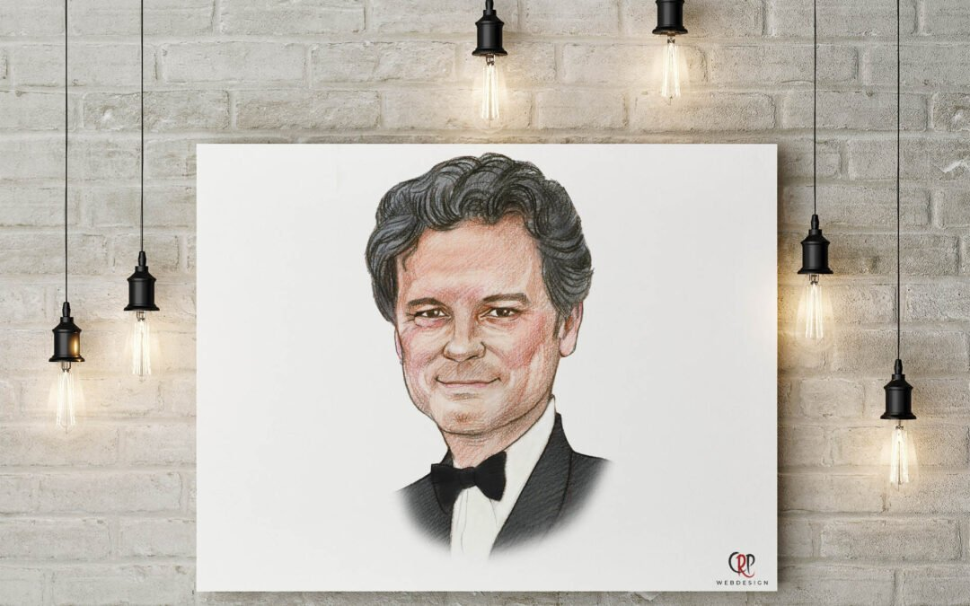 Portret Colin Firth