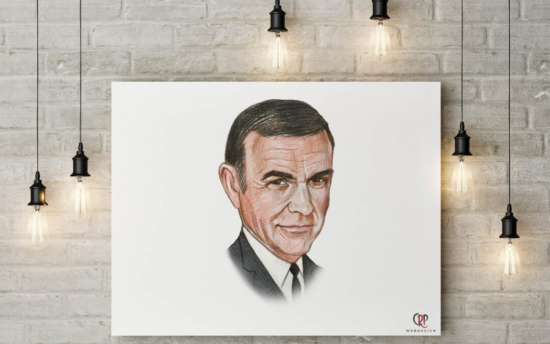 Portret Sean Connery