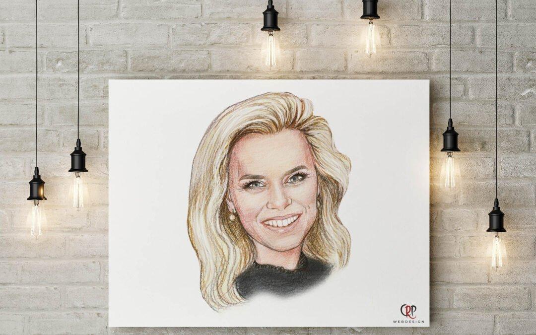 Portret Nicolette van Dam